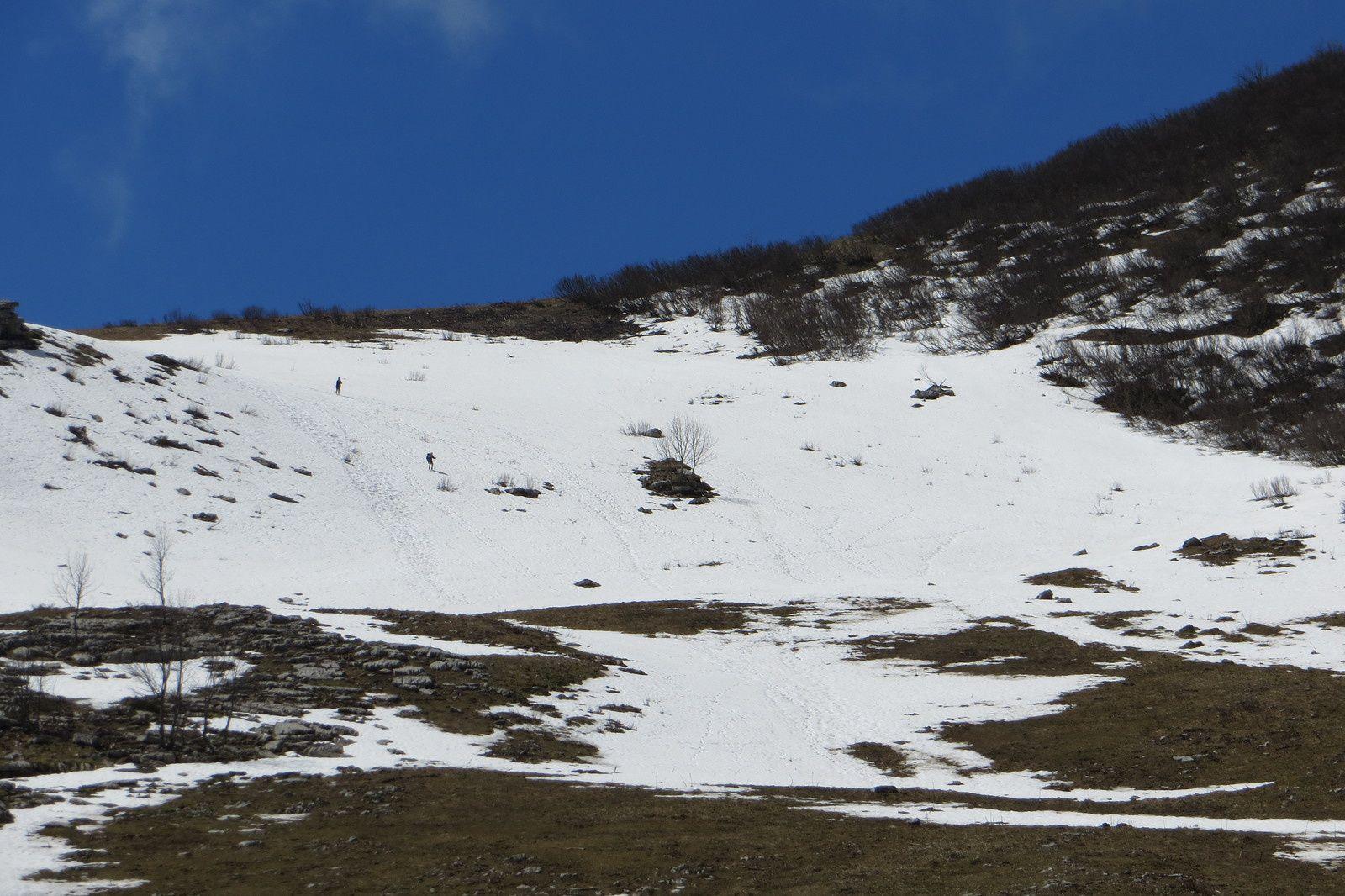 Sous le Col d'Arclusaz