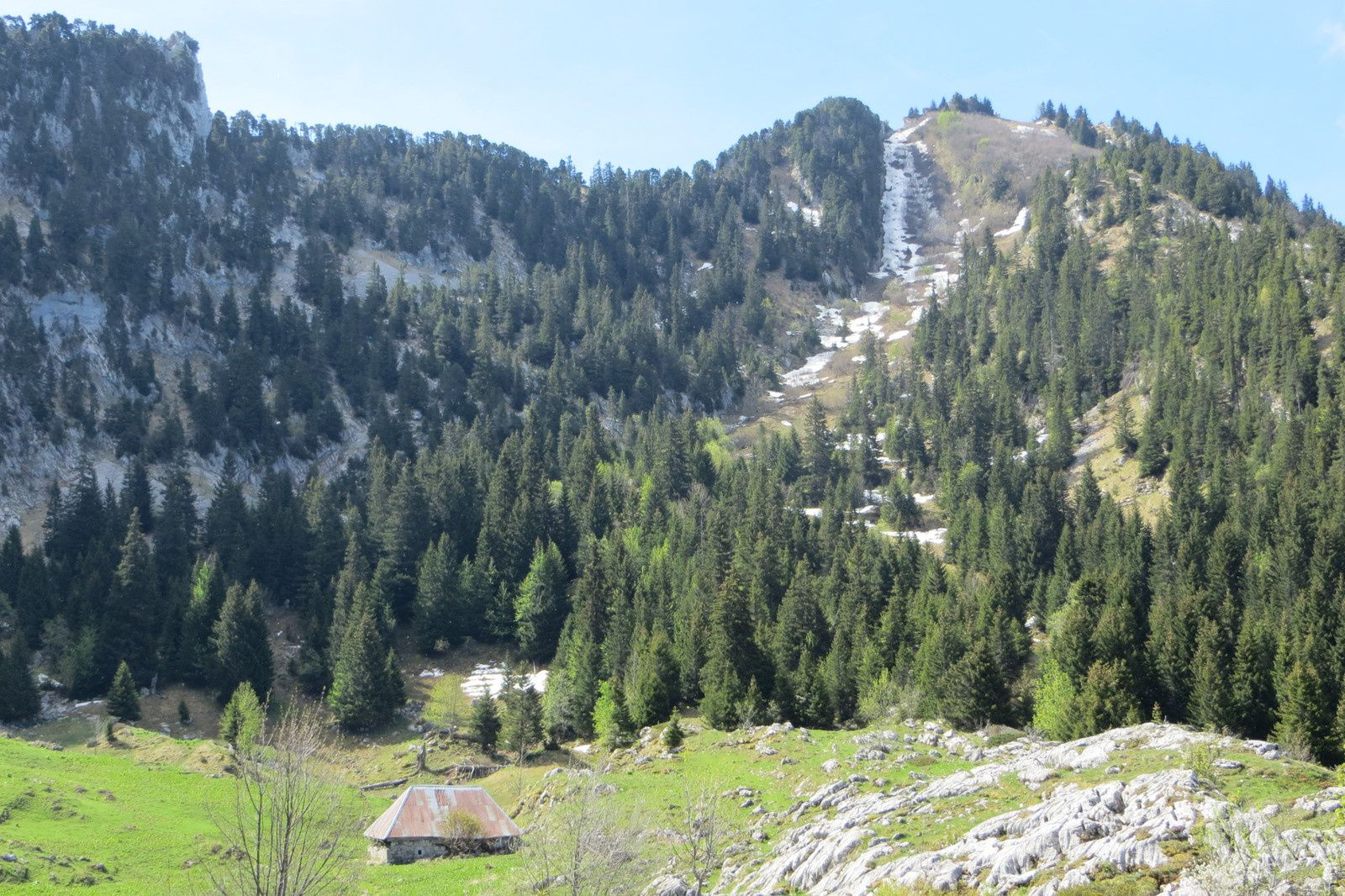 Rochers de la Bade 1850m