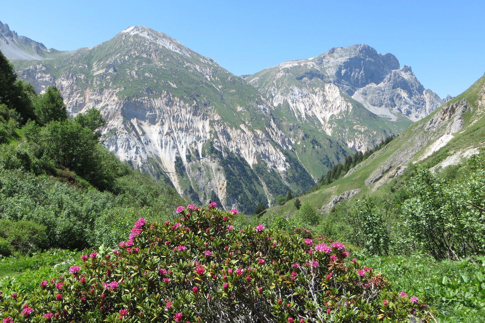 Petit Mont Blanc 2680m et Rocher de Plassa 2836m