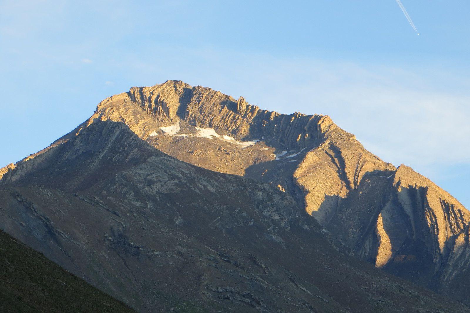 L'Aiguille du Goléon 3427m, objectif du jour