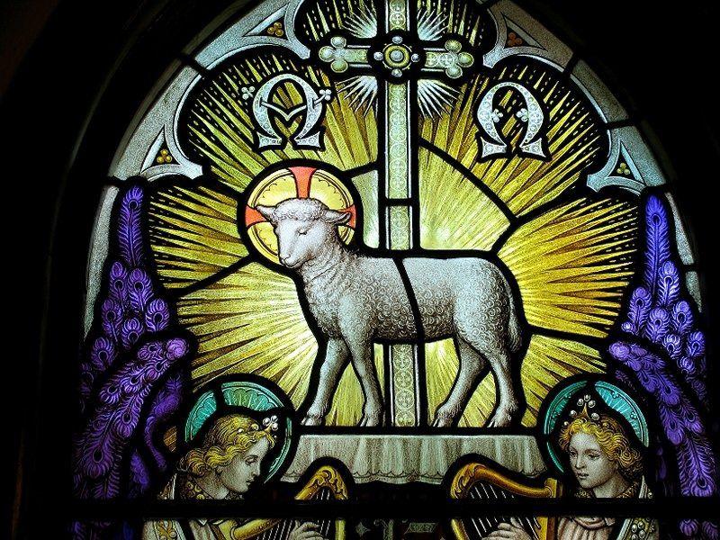 Notre Roi: L'agneau de Dieu, doux et humble de coeur.
