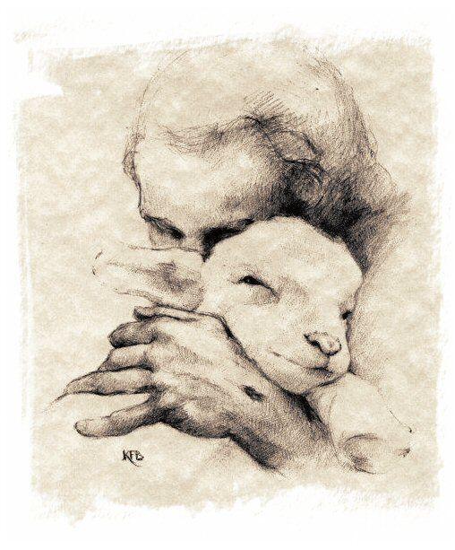 Dans la joie, être témoin de l'Agneau doux et humble de coeur.
