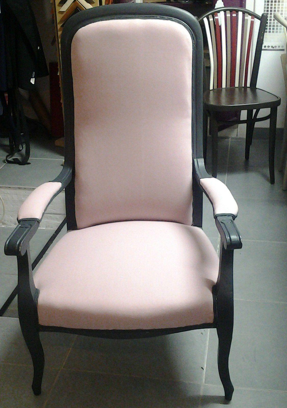 un premier fauteuil relooké par Anne-Marie