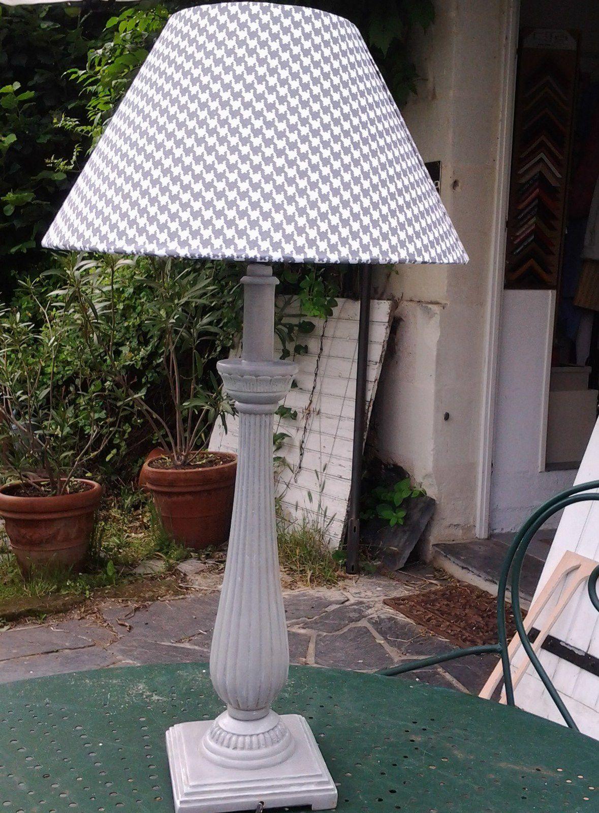 lampe et abat-jour par Isabelle
