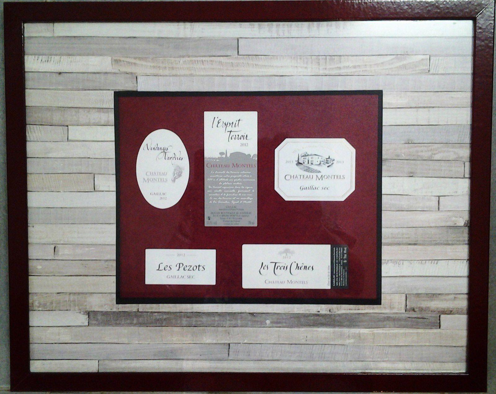 un cadre pour décorer une cave (MP)
