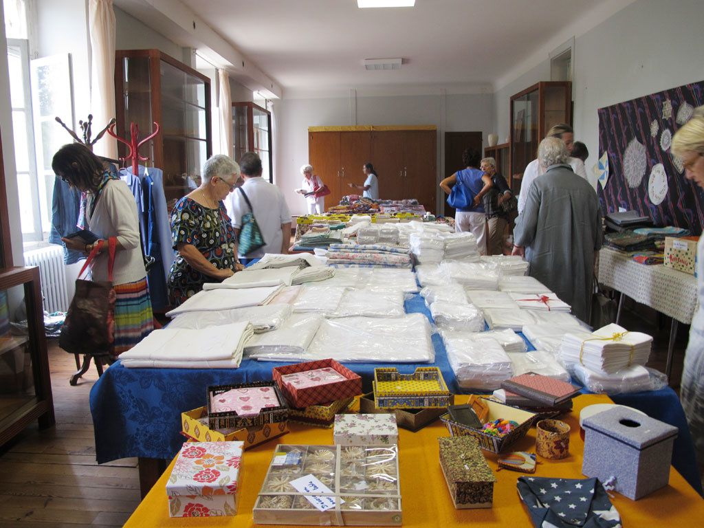BROCANTE SOLIDAIRE AOUT 2015