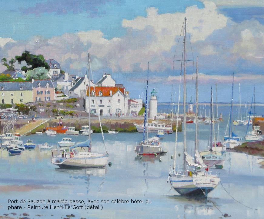 5 - Exposition de peinture Henri Le Goff - Tableaux marines et ...