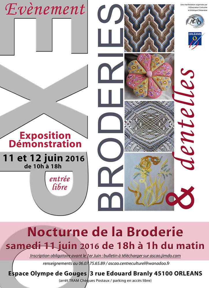 Broderies &amp&#x3B; Dentelles...
