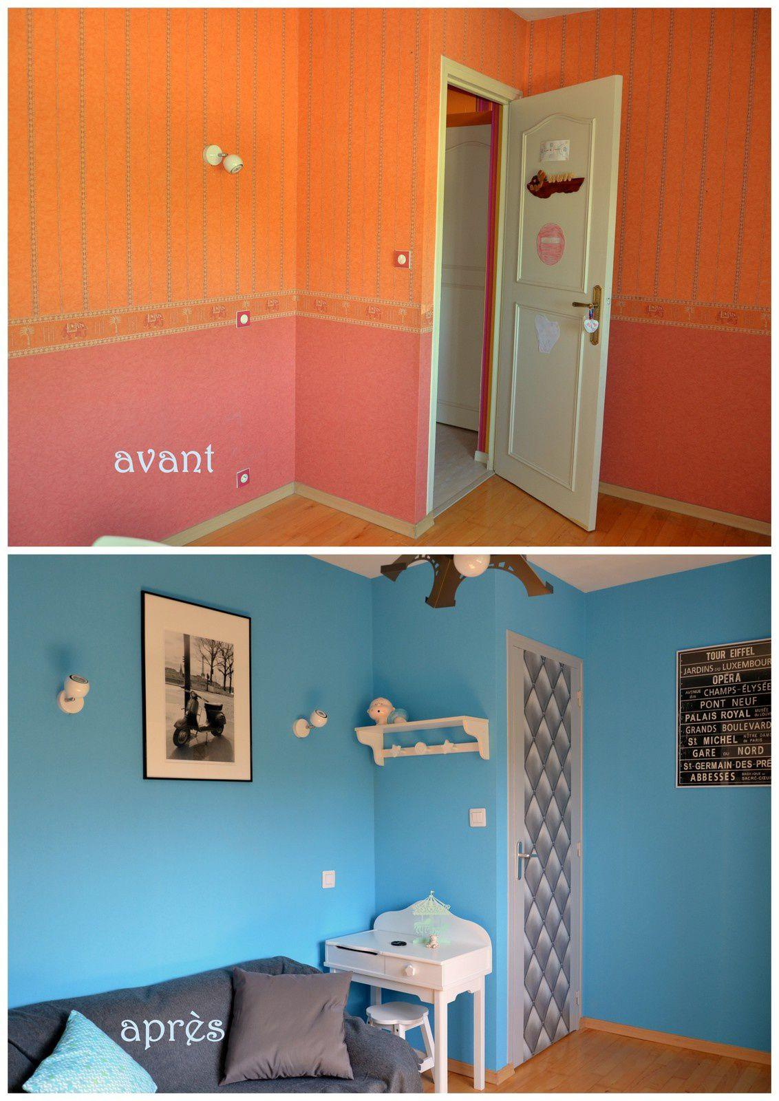 Chambre d'ado thème PARIS
