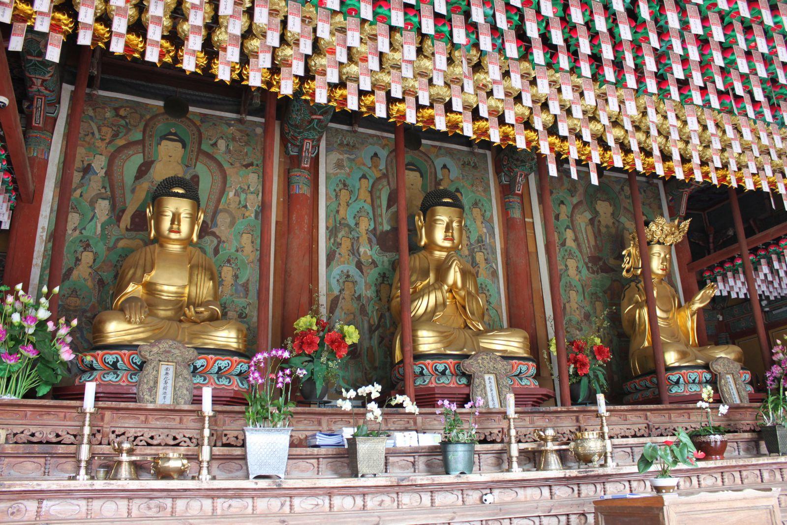 Corée Bouddha