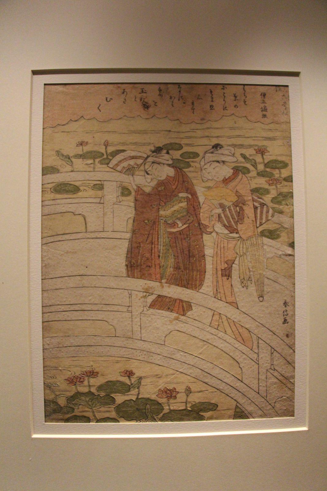 Exposition Harunobu au Musée Guimet (Paris)