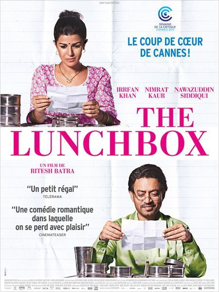 Critique de The lunch box, un film indien sans la sauce Bollywood