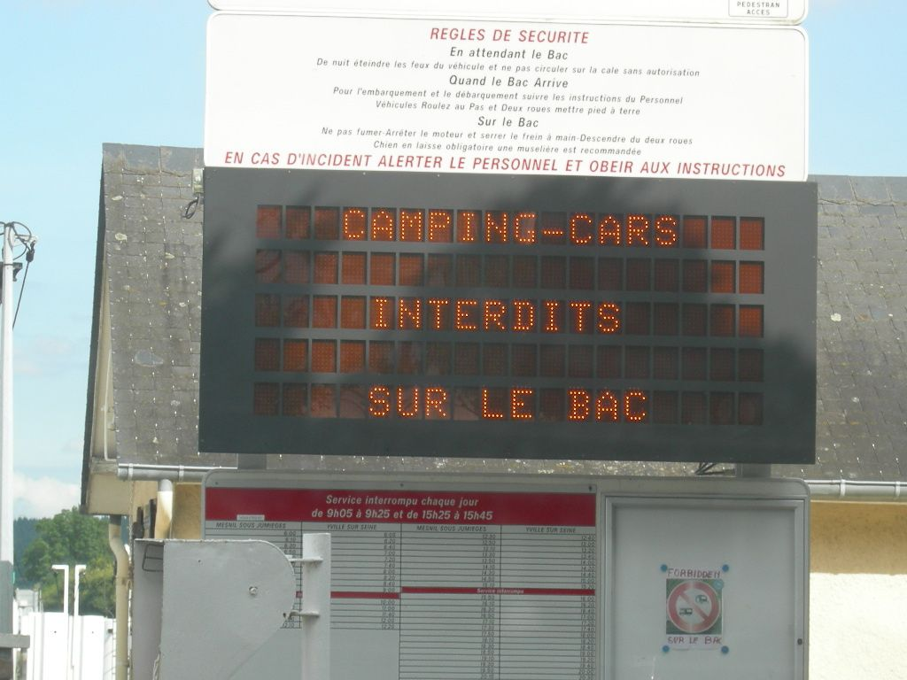 L'interdiction des camping-cars