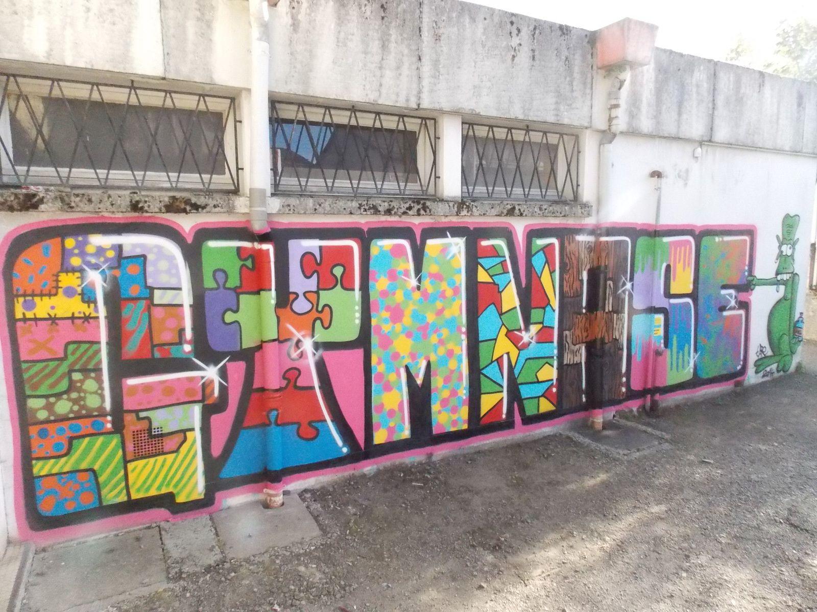Atelier graff à Ax les Thermes et Ax 3 Domaines