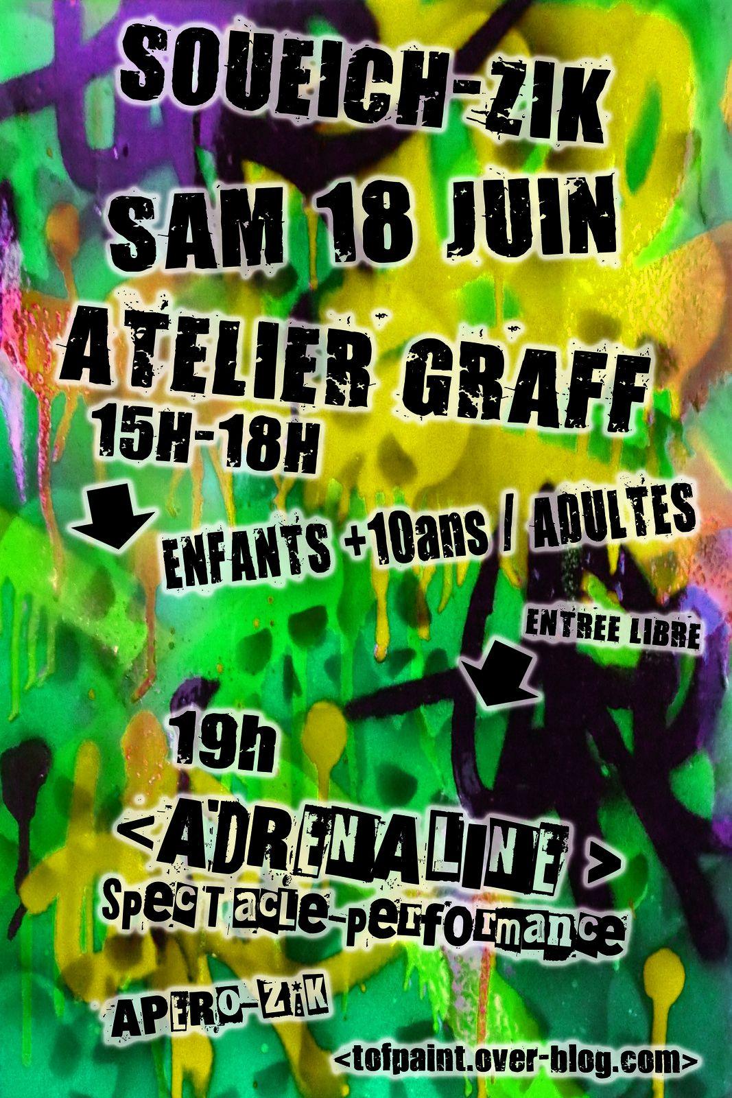 Atelier Graff Soueich sam 18 juin 2016