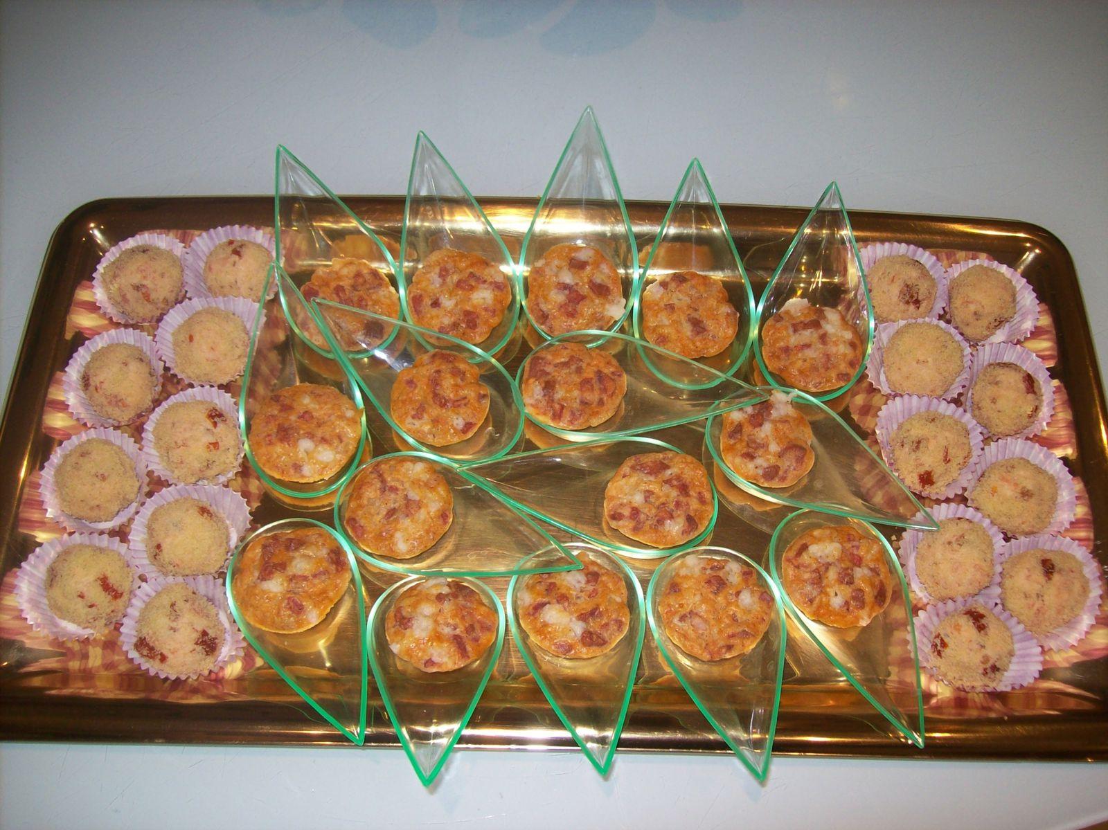 Bouchées Chorizo Etorki