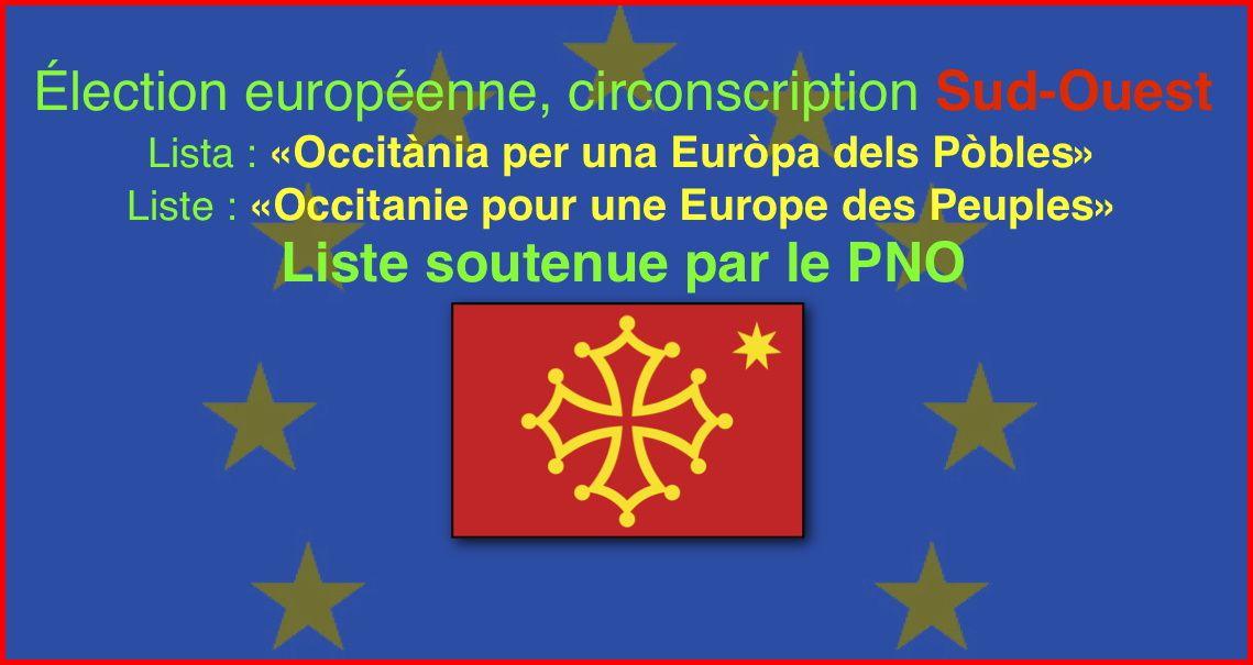 Le Parti de la Nation Occitane et les élections européennes