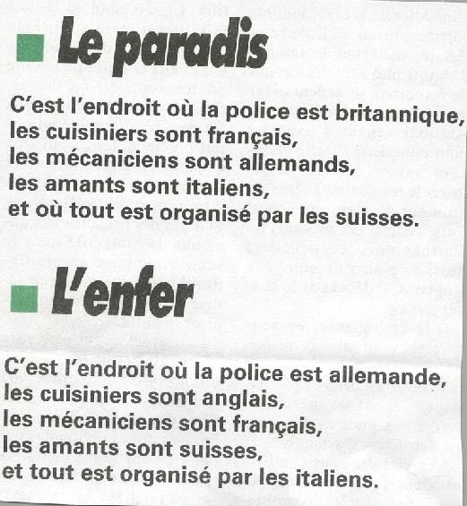 LES STEREOTYPES