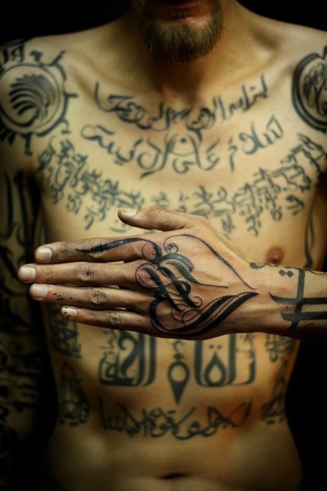 Nan, mais c'est vraiment beau les tattoos