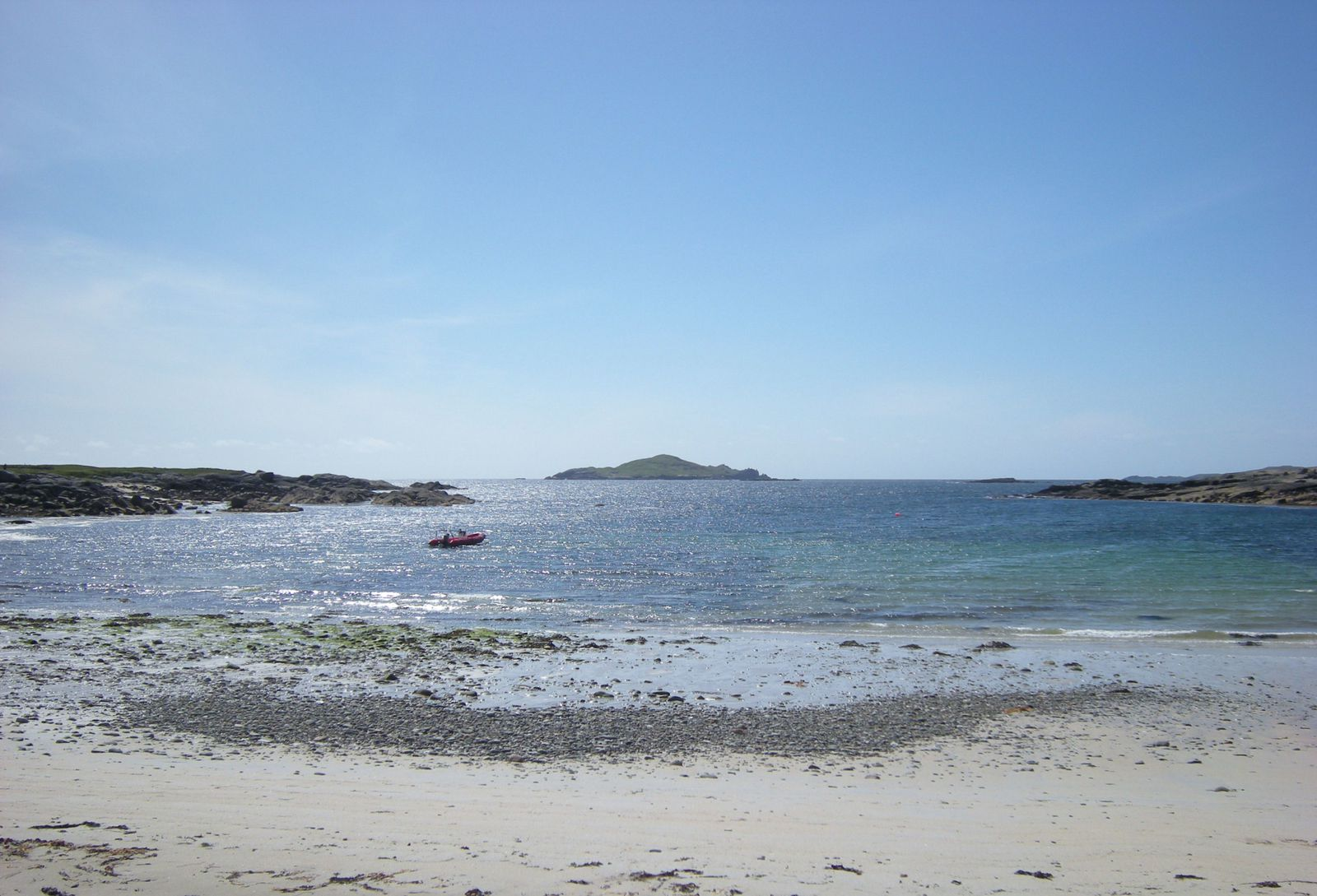 Clifden, Sky Road, Omey island