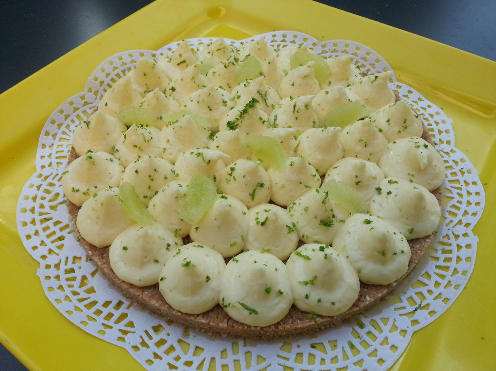 Tarte au citron acidulée à souhait de Christophe Michalak - Angel's Kitchen