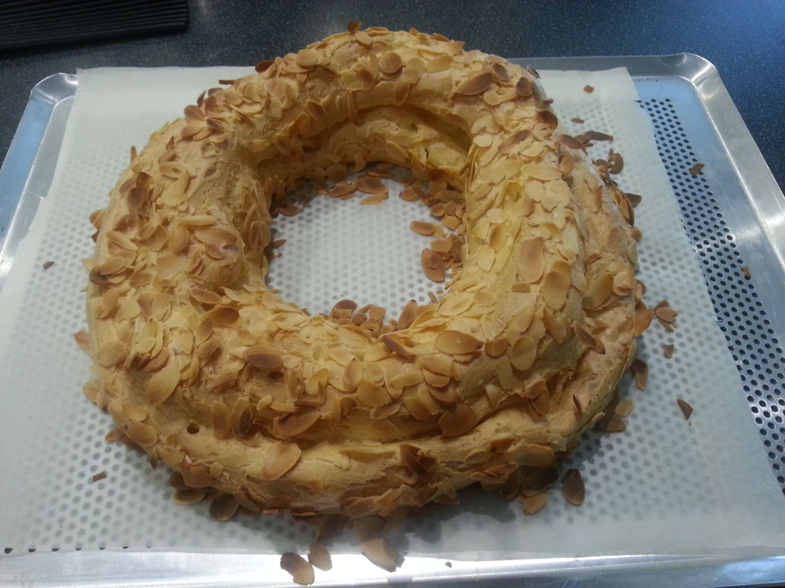 Paris-Brest - Thermomix - Angel's Kitchen