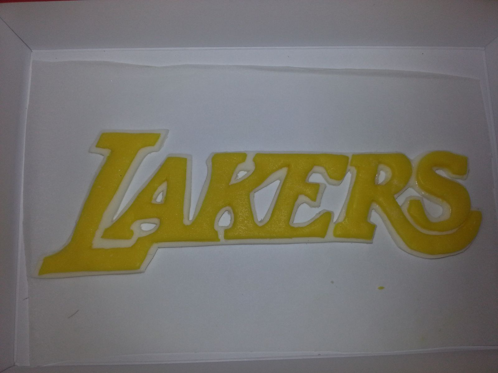 Gâteau d'anniversaire des Lakers - Angel's Kitchen