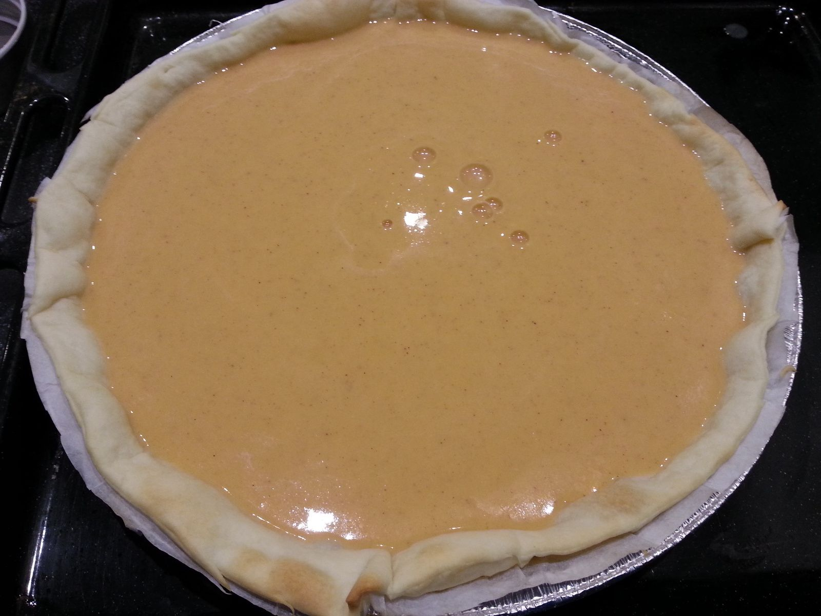 Pumpkin Pie - Angel's Kitchen