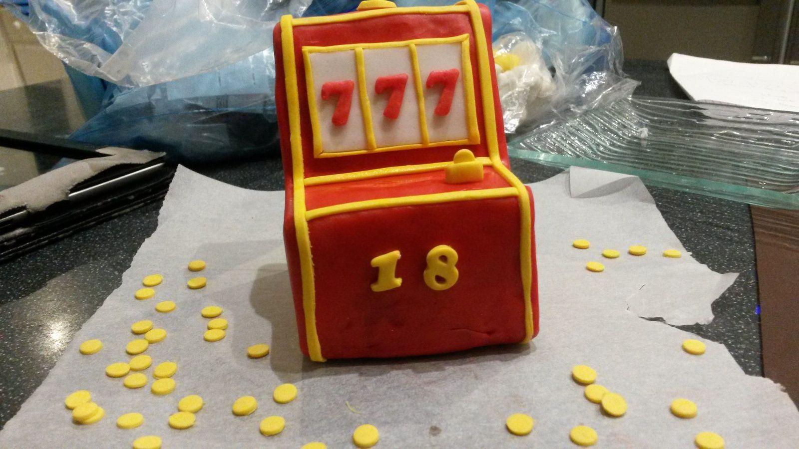 Gâteau thème Casino Las Vegas - Angel's Kitchen