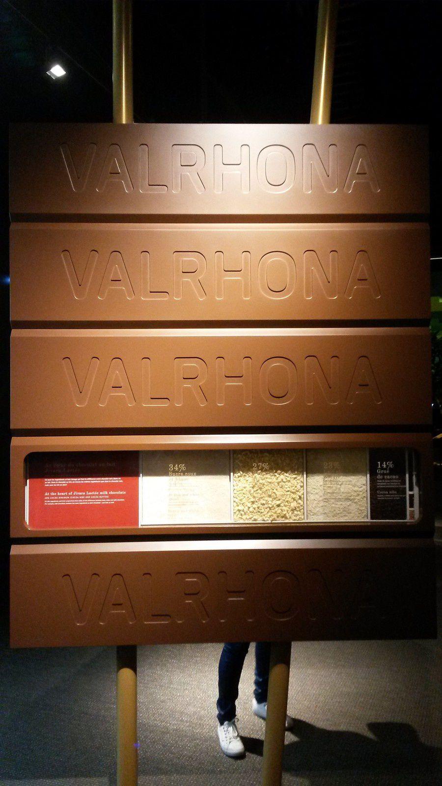 Le mur de chocolat coulant juste dans l'entrée ! c'est pas abusé ça ?