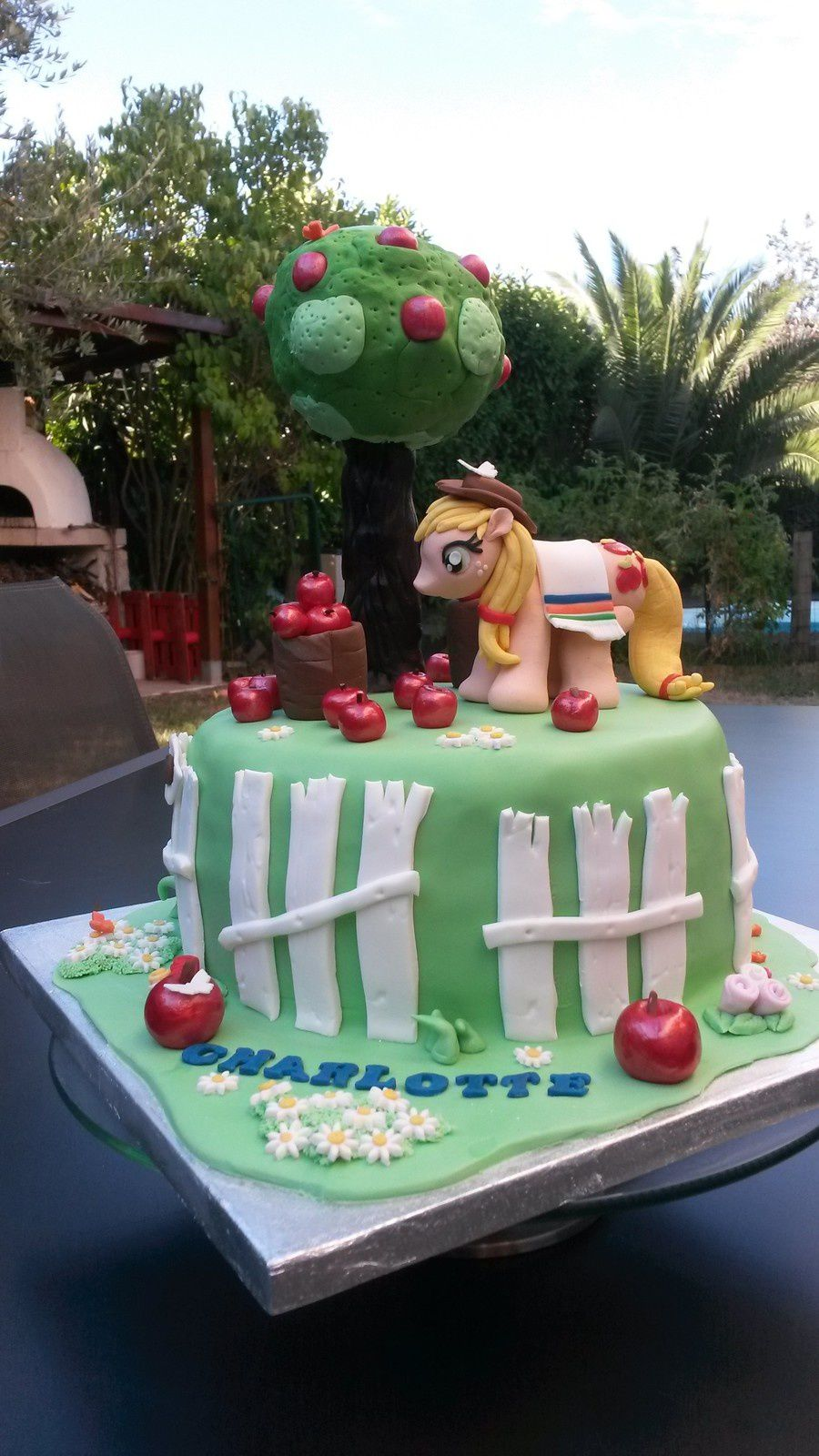 Gâteau Apple Jack My Little Pony - Angel's Kitchen