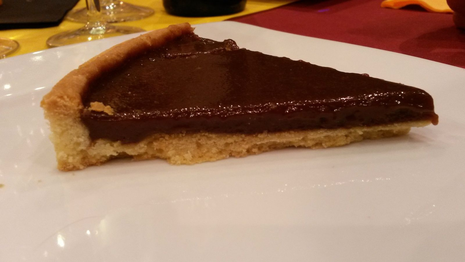 Tarte au chocolat au lait caramel - Angel's Kitchen