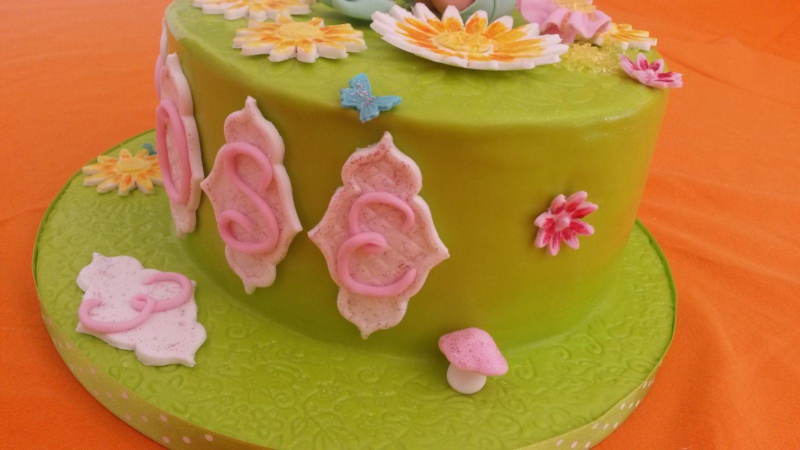 Gâteau Fée Clochette - Angel's Kitchen