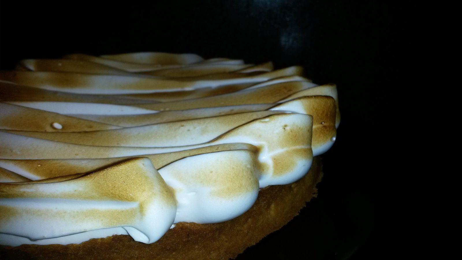 Tarte au citron meringuée - Angel's Kitchen