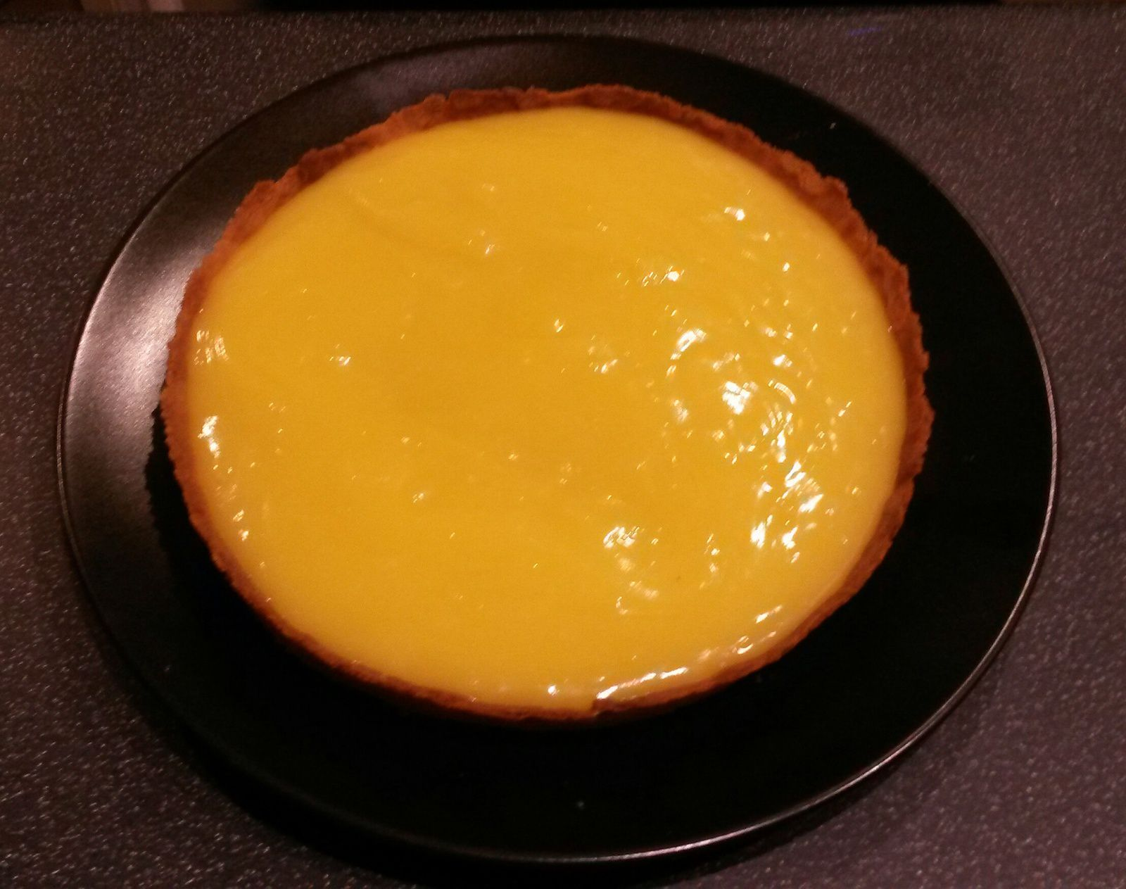 Tarte au citron meringuée - Angel's Kitchen