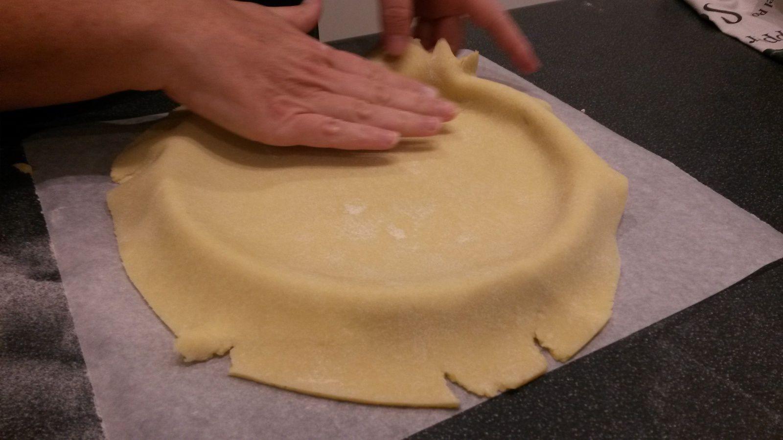 Tarte aux pommes sur pâte sablée - Angel's Kitchen