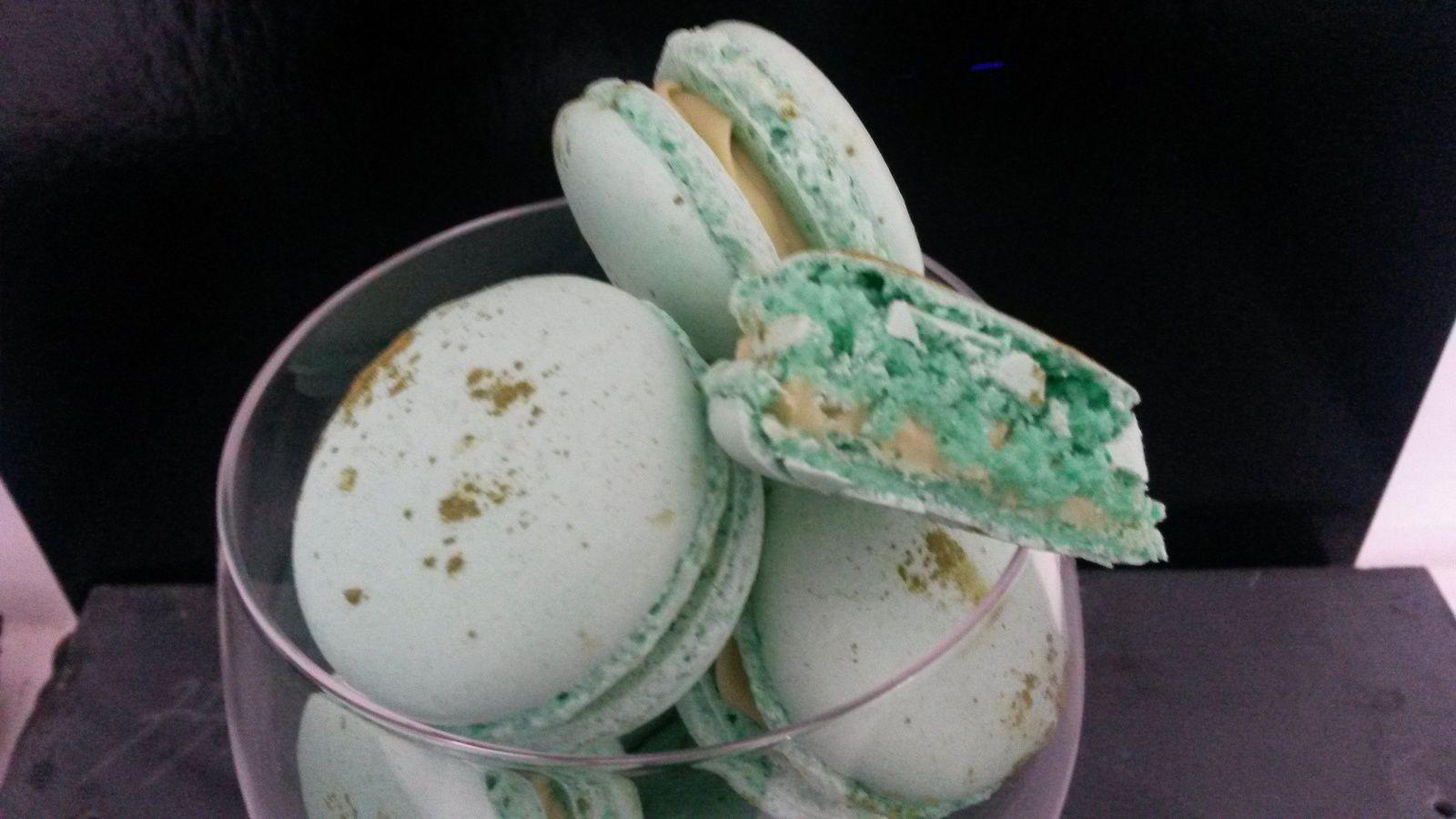 Macarons au Thé Vert Matcha - Angel's Kitchen