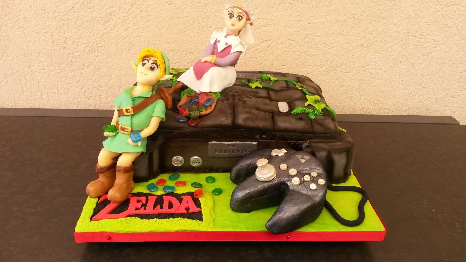 gateau zelda console de jeux nintendo aacook. Black Bedroom Furniture Sets. Home Design Ideas