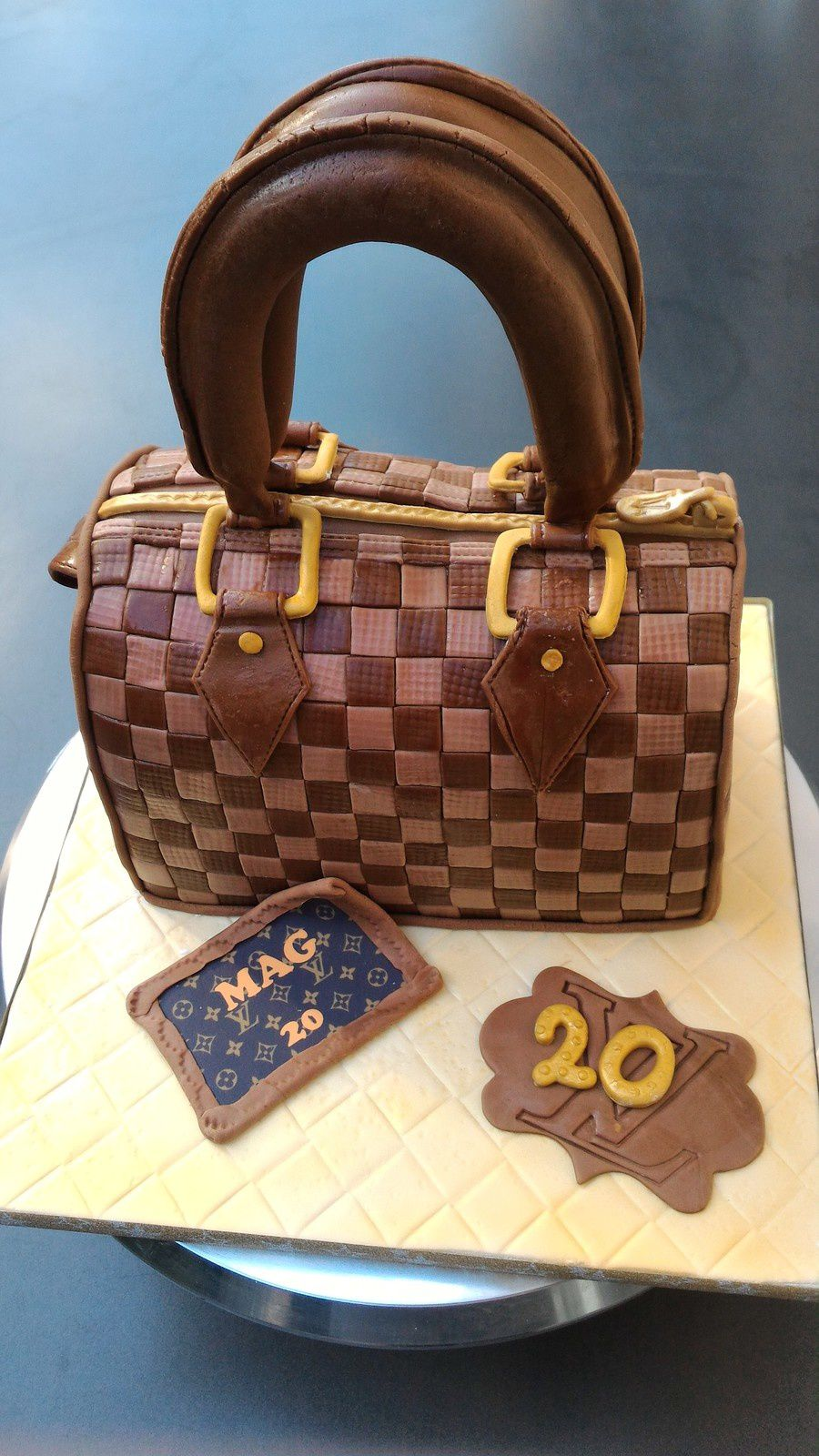 GATEAU SAC LOUIS VUITTON &quot&#x3B;SPEEDY&quot&#x3B;