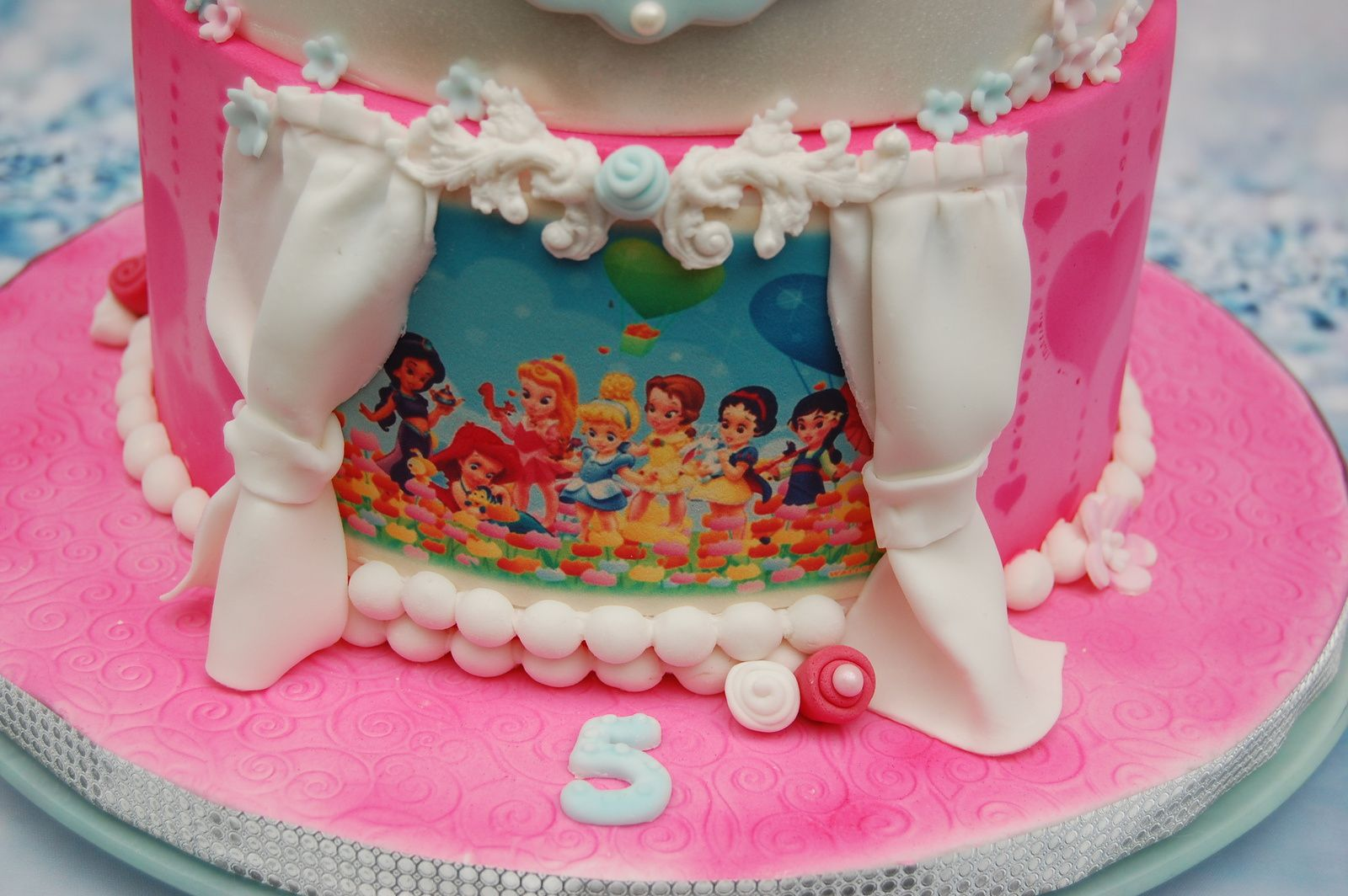 GATEAU PRINCESSES DISNEY