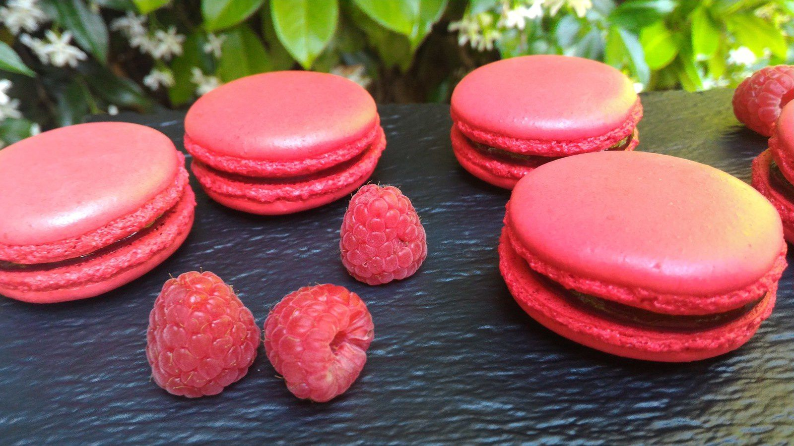MACARONS FRAMBOISE - CONFITURE
