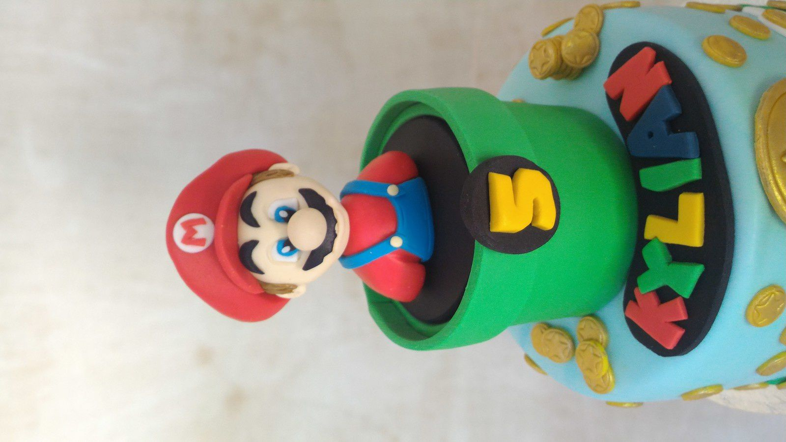GATEAU MARIO BROS