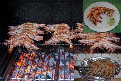 Gambas grill es au barbecue maisouicestmoiquilaifait - Marinade gambas grillees au barbecue ...