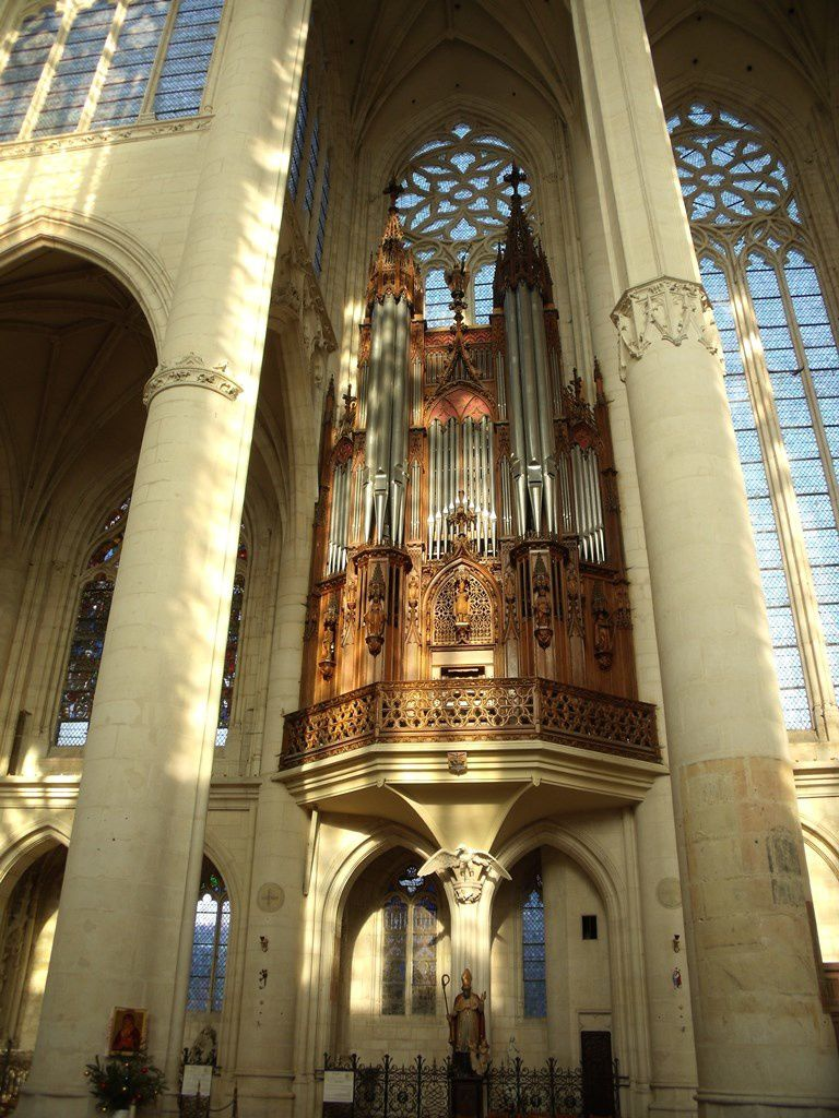 Organs in the basilica of saint nicolas de port - Basilique de saint nicolas de port ...