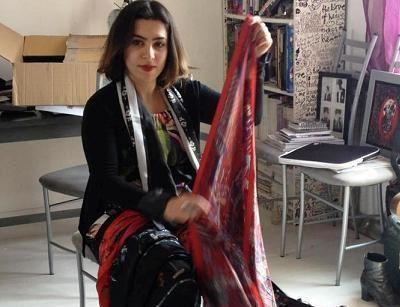 Astrid Sarkissian, la petite bête (de mode) qui monte...