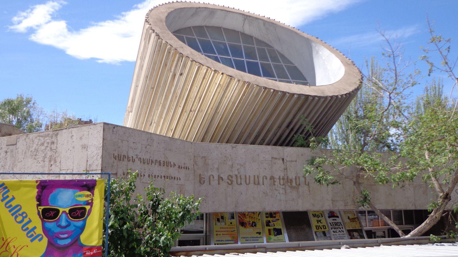 Yerevan, le 20 avril