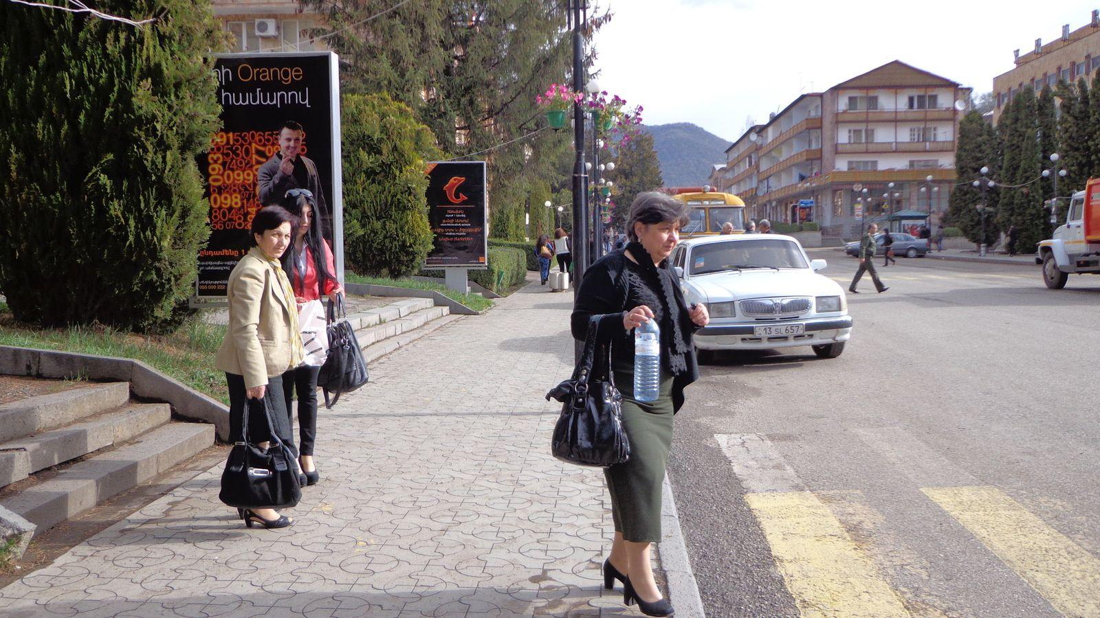 De Dilidjan à Yerevan, le 23 avril