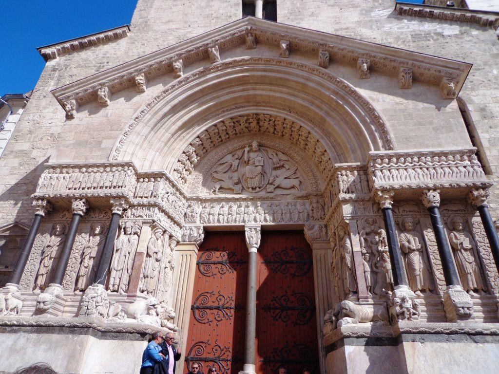 L'église Saint-Trophime