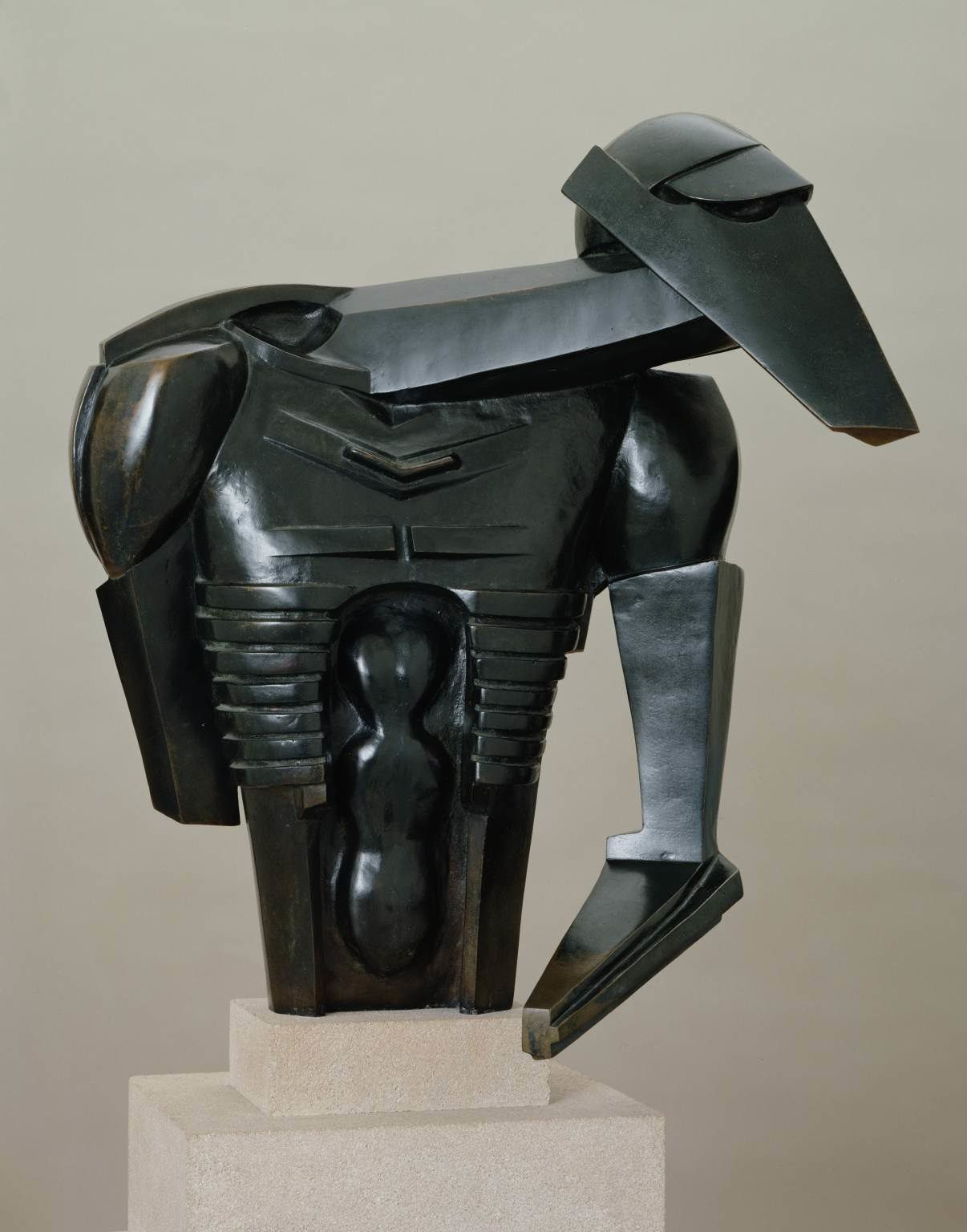 """Torso in Metal"" - Jacob Epstein - 1913"