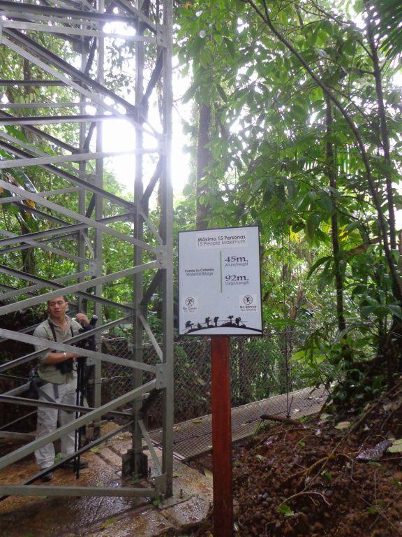 Costa Rica - Jour 6 : Arenal - La réserve Místico